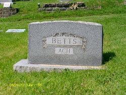 Dorothy Betts Ach