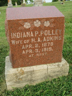 Indiana Pearl <I>Polley</I> Adkins