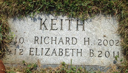 Elizabeth <I>Benson</I> Keith