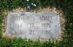 Esther V Ahalt