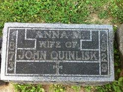 Anna M <I>Creahan</I> Quinlisk