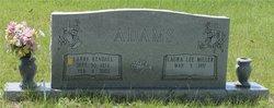 Laura Lee <I>Miller</I> Adams