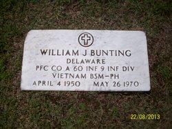 PFC William Joseph Bunting