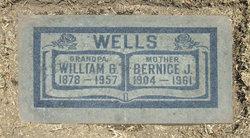 Bernice J <I>Schindler</I> Wells