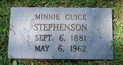 Minnie May <I>Guice</I> Stephenson