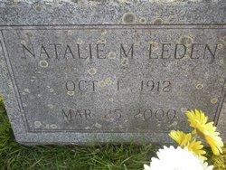 Natalie M <I>Fenwick</I> Leden