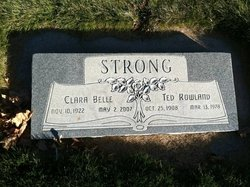 """Edgar Rowland """"Ted"""" Strong"""