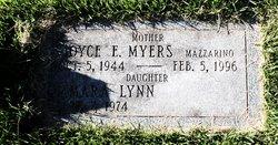 Joyce E. <I>Myers</I> Mazzarino