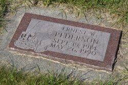 Ernest William Pederson