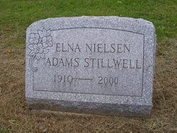 Elna N <I>Neilson</I> Adams-Stillwell
