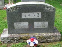 Ora <I>Luke</I> Babb
