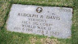 Rudolph R Davis