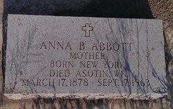 Anna B Abbott