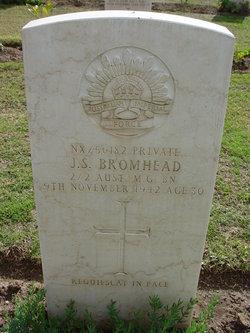 Private John Swift Bromhead