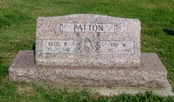 Hazel Minnie <I>Pilz</I> Patton