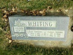 Olive Rachel <I>Carleton</I> Whiting