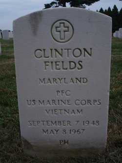 PFC Clinton Angelo Fields