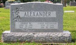 Charlie W Alexander