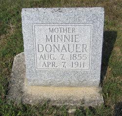 Minnie <I>Luckman</I> Donauer