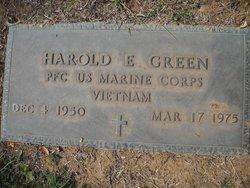 Harold E Green