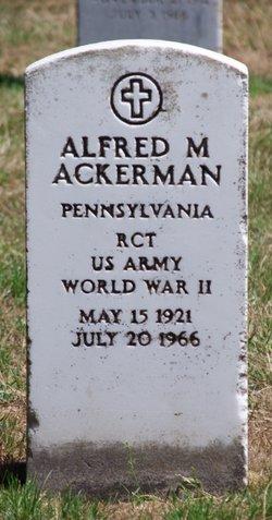 Alfred M Ackerman, Jr