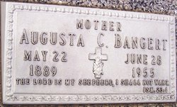 Augusta C <I>Benker</I> Bangert