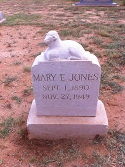 Mary Elizabeth <I>Nash</I> Jones