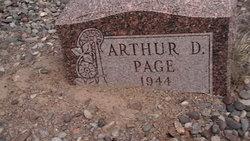 Arthur D Page