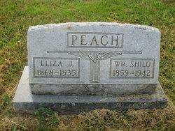 Eliza Jane <I>Holmes</I> Peach