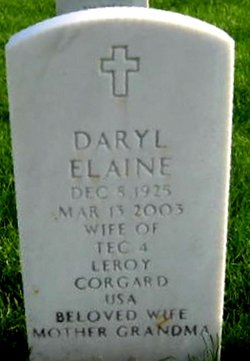 Daryl Elaine Corgard