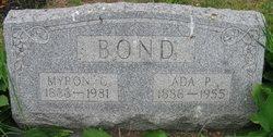 Ada P <I>Emory</I> Bond