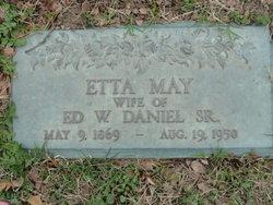 Etta May <I>Wilkinson</I> Daniel