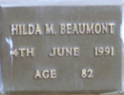 Hilda Mary Beaumont