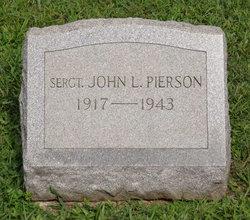 Sgt John Leslie Pierson