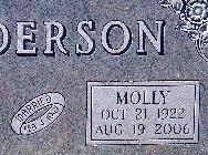 Molly <I>McConville</I> Anderson
