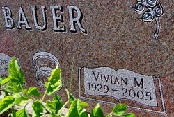 Vivian Maye <I>Helland</I> Bauer