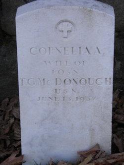 Cornelia A <I>Davis</I> McDonough