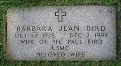 Barbara Jean <I>Cook</I> Bird