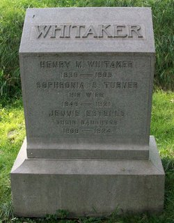 Henry M Whitaker