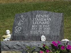 Denise S <I>Stahlman</I> Leonard