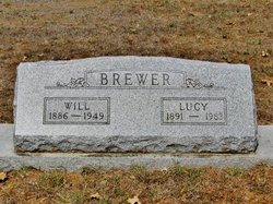 "Lucille May ""'Aunt Lucy'"" <I>Perry</I> Brewer"