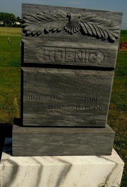 Henrietta Charlotte <I>Vetter</I> Koenig