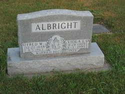 "Frederich W. ""Fred"" Albright"