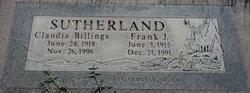 Frank J Sutherland
