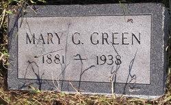 Mary Gertrude <I>Anderson</I> Green