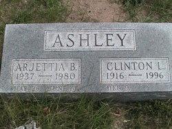 "Arjettia Bernice ""Lou"" <I>Hankins</I> Ashley"