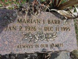 Marian I Barr