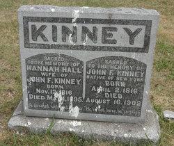 Hannah D <I>Hall</I> Kinney