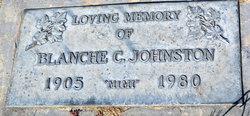 """Blanche C """"Mimi"""" Johnston"""