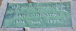 """Sam T """"Papa"""" Johnston"""